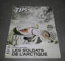 LIVRE ARMEE 2014 TIM TERRE INFORMATION MAGAZINE SOLDATS DE L'ARCTIQUE NORVEGE