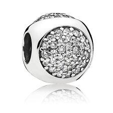 Original PANDORA Element Silber Bead 796214CZ Glitzerndes Tröpfchen