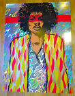 Jermaine Rogers VOODOO 50 Years Gone Jimi Hendrix Holographic Lava Foil Poster