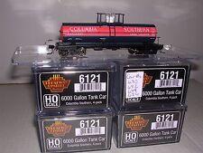 B.L.I. #6121  Columbia Southern 6000 Gal. Tank Cars  w/4 Diff. Car #s  H.O.Gauge