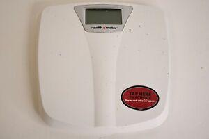 Health O Meter White Digital Bathroom Scale HDM560DQN-01 B253BN Weight Tracking