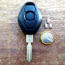 for BMW 3 BUTTON Remote Key Fob Case E38 E39 E36 E46 HU58 3 5 Z3 FULL REPAIR KIT