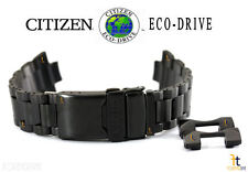 Citizen Eco-Drive AT4117-56H Black Ion-Plated Stainless Steel Watch Band S091071
