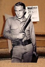 """""""Wanted Dead or Alive"""" Steve McQueen TV Tabletop Display Standee 10.25"""" Tall"""