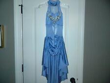 Girl's Blue Ice Skating Dress Size Large