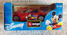 Bburago - Mickey Mouse, Disney Die-Cast Car - 1:43 - New