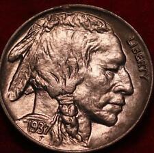 1937-D  Denver Mint Buffalo Nickel