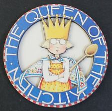 "Mary Engelbreit Round ""The Queen of Kitchen"" 3"" Magnet"