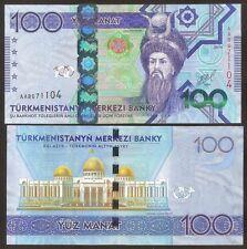 TURKMÉNISTAN 100 Manat 2014 UNC P 34