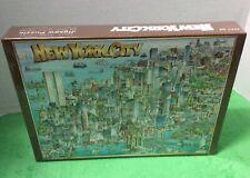 Vintage New York City Puzzle 1988 Don Scott Buffalo Games  New Sealed