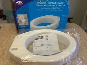 CAREX Elongated Toilet Seat Elevator B30600 - Brand NEW Opened Box