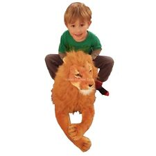 "Extra Large Massive Giant Lion Soft Toy 150cm 59"" Realistic Features"