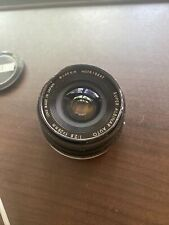 Super Albinar Canon Fd Mount 28mm f2.8 Camera Lens With Front & Rear Caps