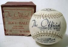 1950s - The Official Steam Welded Soft Ball - No 212 Size 12 Inches Long Fibre