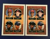 1993 Topps #742 BRIEN TAYLOR, EMBREE, CRABTREE Rookie Lot 2 Prospects Yankees