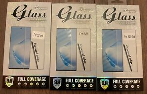 9H Samsung s21 Series Tempered Glass Screen Protector for s21 s21pro & s21Ultra