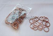 50 STÜCK Kupferringe Dichtringe Dichtungen Cu 12x16x1,5 mm DIN 7603 Form A