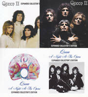 QUEEN /  Collectors Edition 2 title SET 4CD  QUEEN II : EXPANDED  A NIGHT AT THE