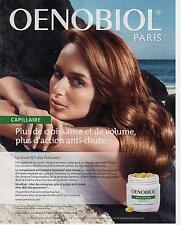 ▬► PUBLICITE ADVERTISING AD Oenobiol Anti-chute capillaire