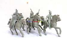 New Medieval Castle Roman Cavalry Figures (5pcs) Toy Soldiers Plastic Army Men