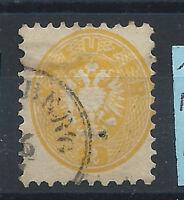 Autriche N° 27 Obl (FU) 1863-64