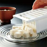 Plastic Washable Water Tofu Cutter Press Mold Food Cheese Slicer Kitchen Tool