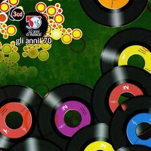 50 Anni Di Musica Italiana - Los 70 - (Confezione Metallo 3 CD