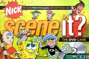 Nick Scene it Game Replacement Pieces and Parts - Choose What You Need