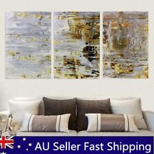 3pcs 60x40cm Retro Abstract Canvas Print Oil Painting Wall Picture Home Decor Framed