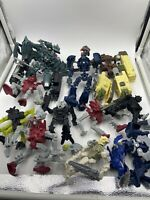 Bionicle/Transformer Mixed Lot of 12 Action Figures not 100% complete