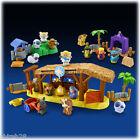 Fisher Price Little People Playsets - Nativity Scene + Lil Shepards + 3 Wisemen