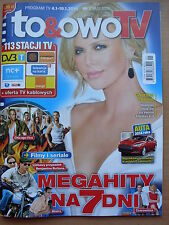 To & Owo TV - Polish Magazine front CHARLIZE THERON in. Leonardo DiCaprio
