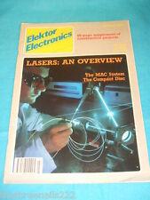 ELEKTOR - LASERS - JULY 1987 # 147
