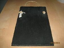 Kitchen sized Welsh slate chalk memoboard message board shopping list