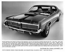 1969 Mercury Cougar Automobile Photo Poster zad4800-K1EVQE