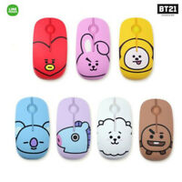 BTS BT21 Official Authentic Goods Wireless Silent Mouse by LINEFRIENDS