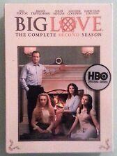 BIG LOVE the complete second season    DVD NEW  corner dings