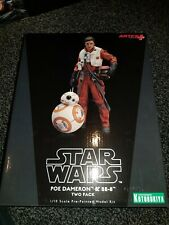 Star Wars Poe Dameron & BB-8 Action Figure ARTFX+ SW122 Kotobukiya