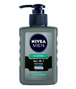 Men Face Wash,Oil Control,150 ML By Nivea - Free Delivery Worldwide
