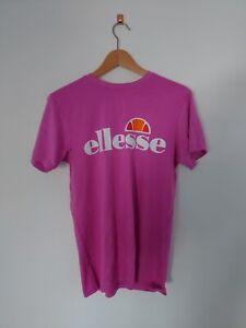 Ellesse Pink Vibrant T shirt Size 6