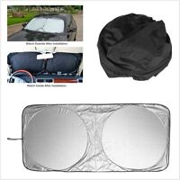 1x Universal Car Auto Front Windows Protection Windshield Cover UV Visor Shade