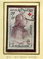 STAMP / TIMBRE FRANCE OBLITERE  N° 1226  ABBE DE L'EPEE