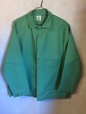 Steel Grip Men's FR Flame Resistant Uniform Green Welding Jacket XL ATPV 12.9 #I