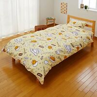 Sanrio Gudetama Bedding Cover 3pc Set Single Size Kawaii Cute from Japan F/S NEW