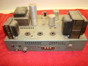 Bogen DB20 DF Tube Amplifier Amp