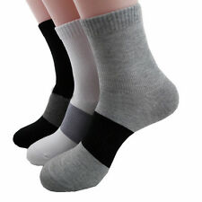 Premium 3X Bamboo Fibre Man Socks Odor Resistant Antibacterial Healthy Natural
