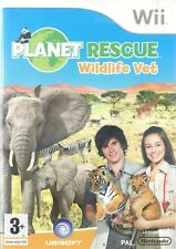 PLANET RESCUE Wildlife Vet Nintendo Wii 3+ Animal De Compagnie Virtuel Entertain...