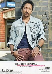 Phaldut Sharma Autograph - EastEnders - Signed 6x4 Cast Card - AFTAL