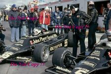 Andretti & Jarier JPS Lotus 79 Canadian Grand Prix 1978 Photograph