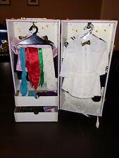 PLEASANT COMPANY DOLL CLOTHES LOT w/wardrobe American Girl SAMANTHA Middy dress